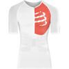 Compressport Triathlon Postural Aero Short Sleeve Top Men Red